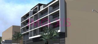 Bloco Habitacional em Empreendimento Urbanístico / Tipologias T1, T2, T3 e T4.