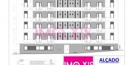 Bloco Habitacional em Empreendimento Urbanístico apartamentos Tipologias T1, T2, T3 e T4.