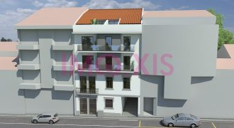 Edifício de Habitação Multifamiliar, apartamentos Tipologias T1, T1 Duplex (T2), T2, T3 e T1 Duplex (T3).